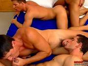Four Muscular Men Fucking Clip # 4